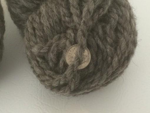 White Blend Yarn