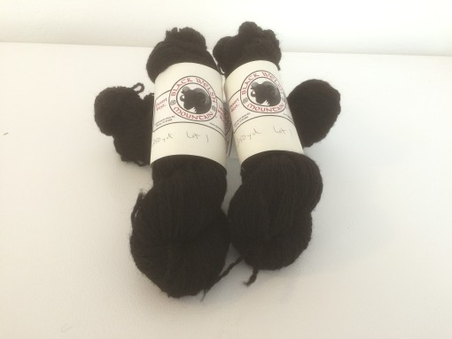Black Welsh Yarn